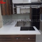 distributor solid surface