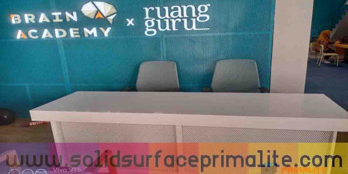 Solid Surface Terbaik di Indonesia, 100% Terjamin Kualitasnya